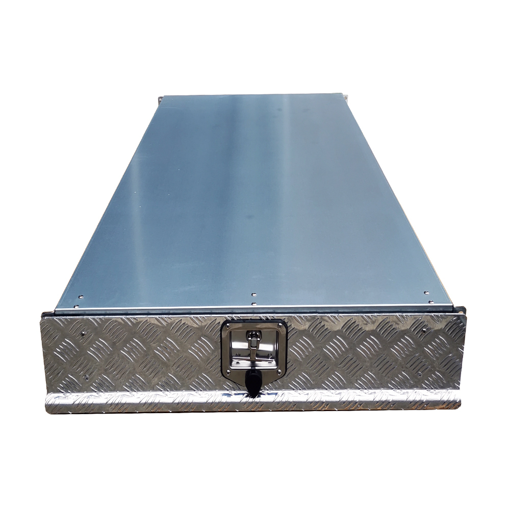 1700mm Checker Plate Under Tray Trundle Drawer