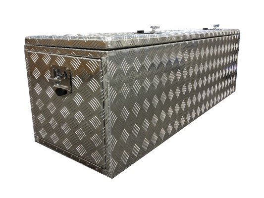 1700x500x500mm Aluminium 3 Door Camper Toolbox