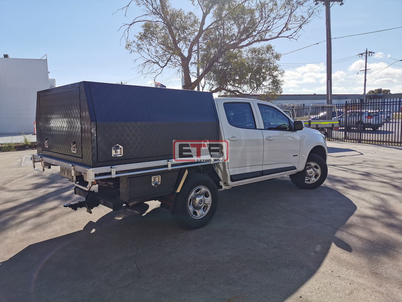 Aluminium Tray and Canopy for Holden Colorado & Rodeo Dual Cab