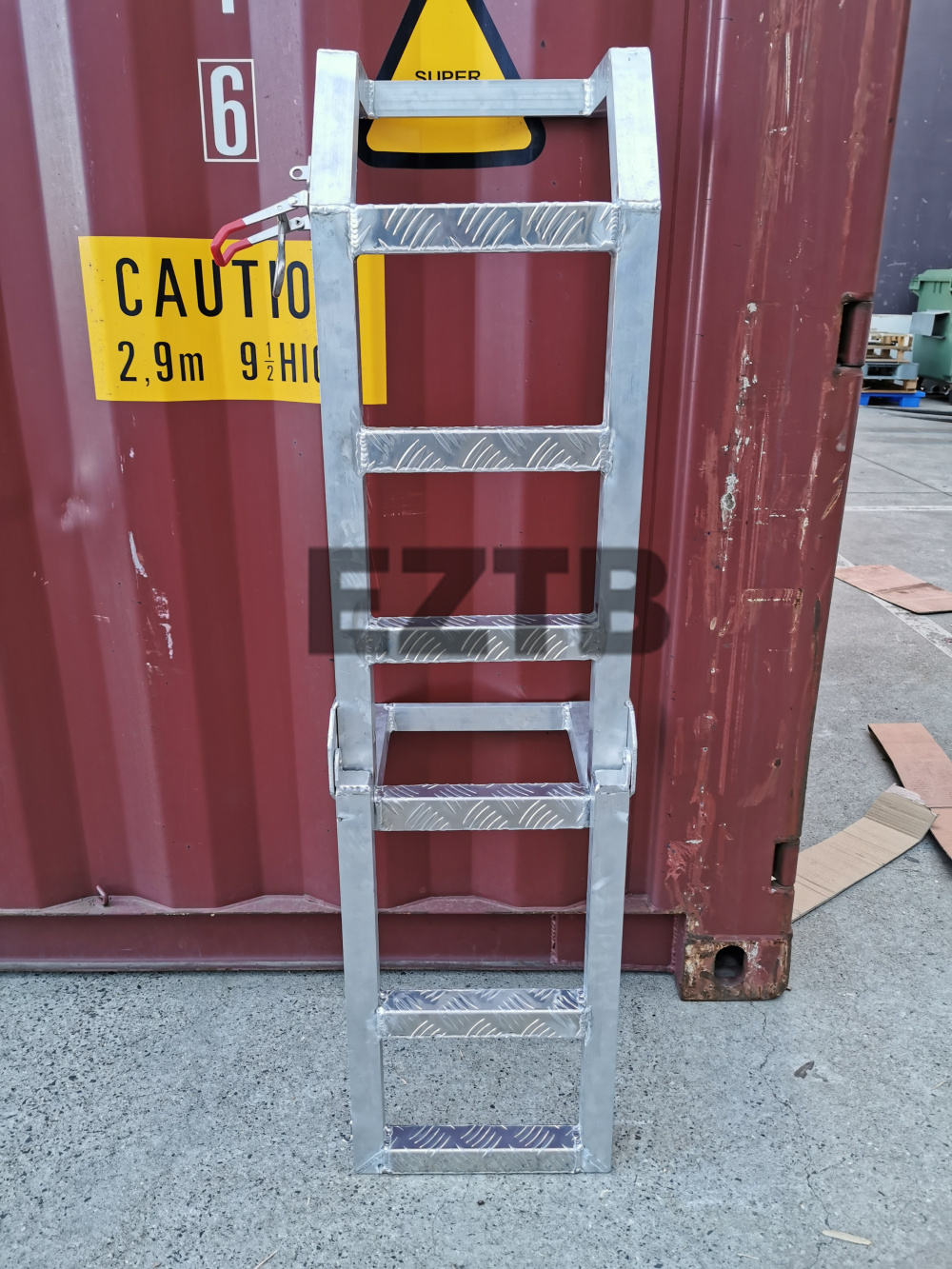 850mm High Universal Aluminium Rear Ladder for Ute Canopy