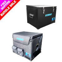 Korio 45L Fridge & 45L Fridge Cover Bundle Sale
