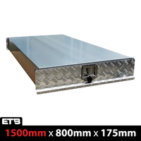 1500mm Checker Plate Under Tray Trundle Drawer