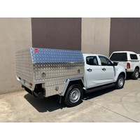 Aluminium Tray and Canopy for Isuzu Dmax Dual Cab