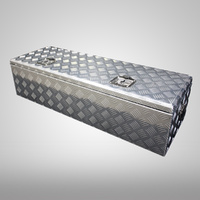 Aluminium 1500x500x500 Top Open Rectangular Truck Trailer Ute Tool Box
