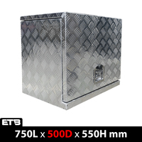 750x500x550mm Aluminium Generator Box Storage Toolbox