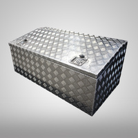 1200x600x500mm Checker Plate Chest Top Open Aluminium Tool Box