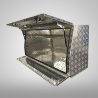 Aluminium Half Full Side Opening Open 1450x700x500mm Toolbox
