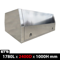 1m Height 2400mm Flat Plate Aluminium Canopy