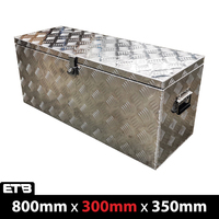 800x300x350mm Aluminium Top Open Tool Box